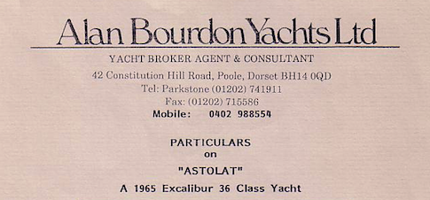 Alan Bourdon Yachts Ltd